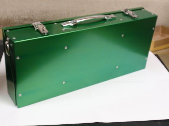 アルミ製タックルボックスを製作
