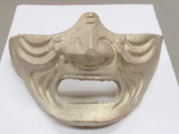 真鍮製仮面のオーダーメイド