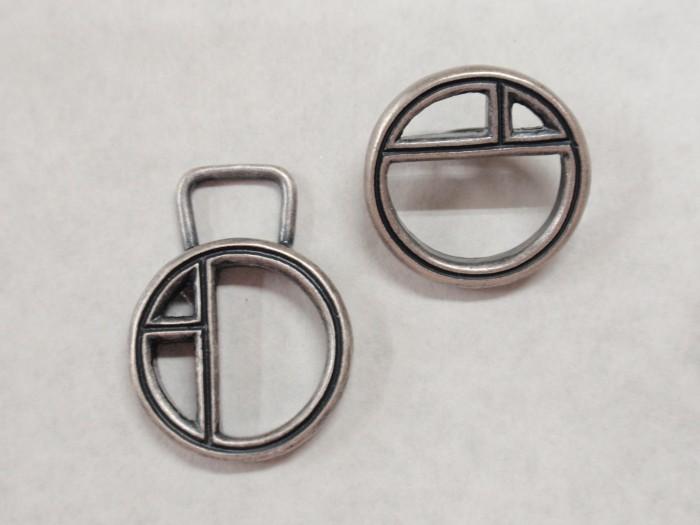 アパレル金具パーツのボタンとファスナーを製作