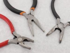 アクセサリー用の工具を加工してオリジナル工具を8個製作