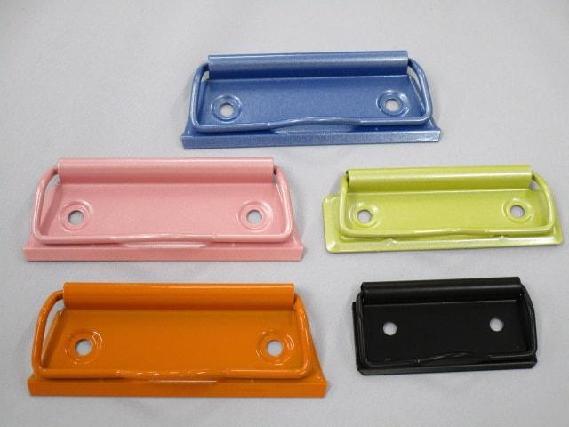 5色の回覧板用クリップ