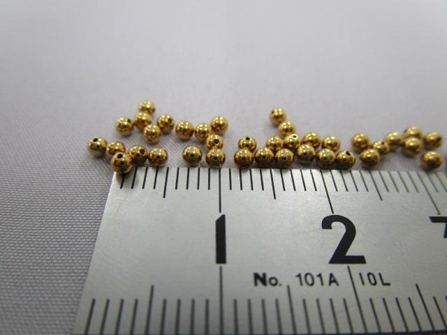 メタルビーズの製作依頼 | 穴の直径が小さく加工難易度が高い