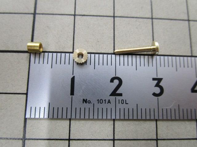再製作したイヤリング金具