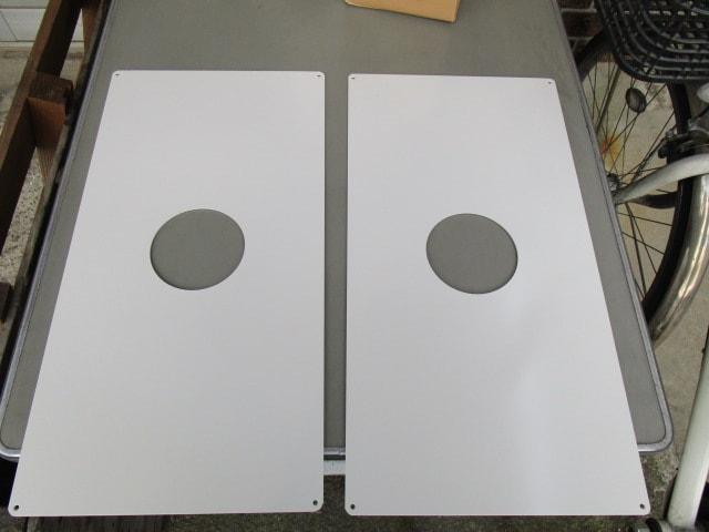 消火器用壁掛け金具(板タイプ)を製作 | 安全に壁掛けできる強度